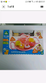 New ELC childrens bathtime tea party age 12- 36 months