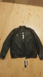 Brand New World Collection Leather Jacket