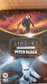 The Chronicles of Riddick and Pitch Black 2 dvd box set
