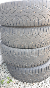 Winter tires studded 265 70 R17