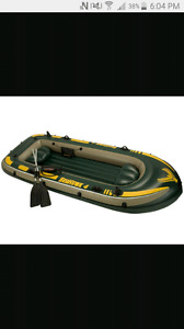 MOVING SALE **10 foot inflatable boat