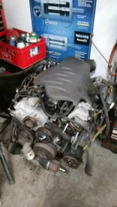 COMPLETE MOTOR AND TRANMISSION (EXCELLENT SHAPE)