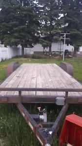 18 ft equipment trailer
