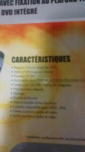 Lecteur DVD écran 9 pouces avec plafonnier Saguenay Saguenay-Lac-Saint-Jean image 2
