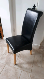 Comfortable High-Backed Chair for Upcycling