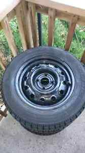 Goodyear Winter Tires with rims 175/65R14 London Ontario image 2