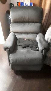 Free couch and a recliner chair