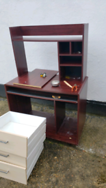 desk brown sturdy