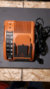Ridgid 18 Volt Battery Charger