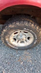 BFGoodrich tires on Ford Ranger aluminum rims