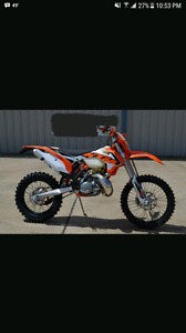 WANTED: KTM xc-w or Husaberg 2 stroke