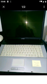 Sony Vaio laptop PCG-7M1M for spares or repairs