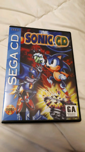 Sonic CD, sega cd game