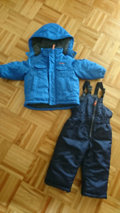 Habit de neige bébé garçon 18 mois
