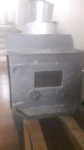 Pioneer power airtight woodstove with piping 1000 obo