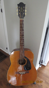 Vintage 1970`s PAN acoustic guitar( New Price)