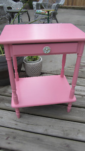 Little Pink 1-Drawer Cabinet