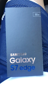 Samsung Galaxy S 7 Edge. Brand New in Box . Roger'
