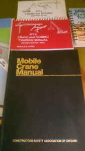 Mobile Crane Textbooks and Training Manuals