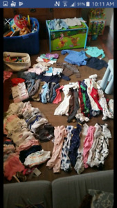 Baby clothing 0 to 6 months