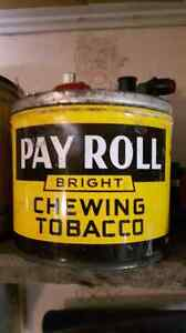 Pay Roll chewing tobacco tin