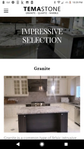 Granite, Quartz and Marble Sales and Installation
