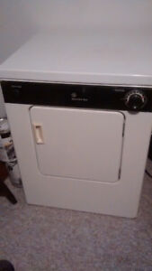 Kenmore apartment size dryer and a dehumidifier