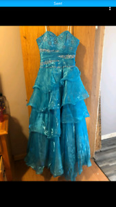 Grad Dress size small