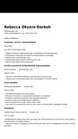 Student searching for job