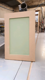 Kitchen doors made to size ready to paint