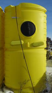 Fresh water tanks