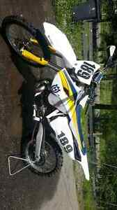 2015 husqvarna tc250 with 300sx kit