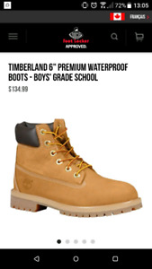 "Timberland 6"" premium waterproof boot J5"