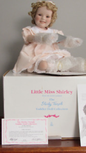 """Little Miss Shirley""  Doll For Sale"