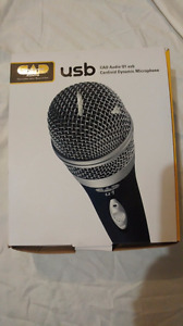 MIcrophone USB CAD U1 Handheld *Neuf boite ouvert*