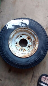 Boat trailer tire
