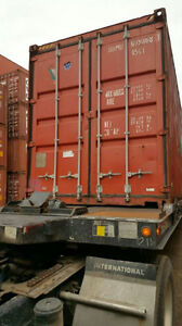 """USED STORAGE CONTAINER FOR SALE IN GRADE """"A"""" CONDITION Cornwall Ontario image 7"""