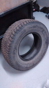 2 Winter tires used 265/70R16