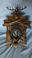 hunters coocoo clock made in germany 1978