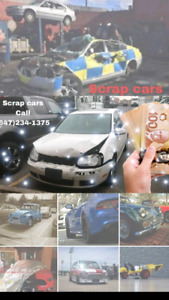 SCRAP Your Car CALL 6472341375