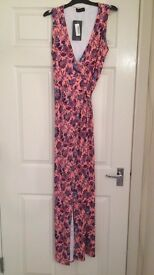 Pretty little thing maxi wrap dress size 14