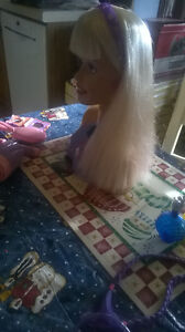 Talking Barbie Head with Accessories Windsor Region Ontario image 5