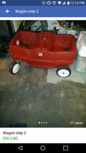 Step 2 wagon good condition