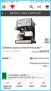 Machine expresso Oster Primalatte
