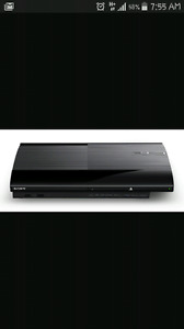 500 gb ps3 console and power cord only