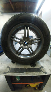 255/55R18 summer tires 5x120 mags OEM performance BMW