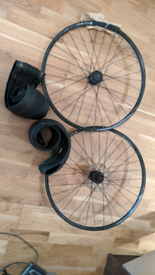 650b wheels and tyres