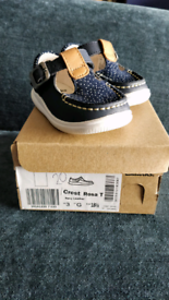 Clarks First Walkers - Girls - Navy - size 3G