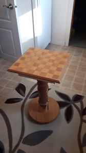 Hand Built Chess Table