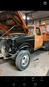 1997 Ford F350 4x4 Dually Dump Truck